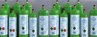 Refrigerant Gas Bottles