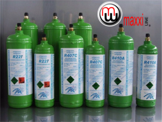 MaxxiLine Refrigerant Refillable Gas Cylinders