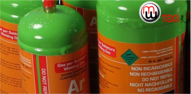 MaxxiLine Disposable Gas Bottles
