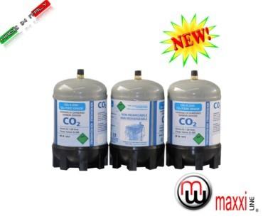 Maxxiline Disposable Co2 E290 Gas Bottle Carbon Dioxide